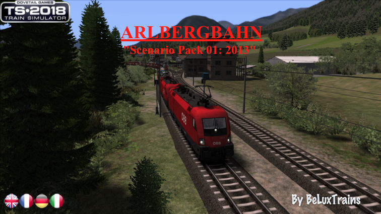 Beluxtrains TrainSim Homepage Scenarios By country By
